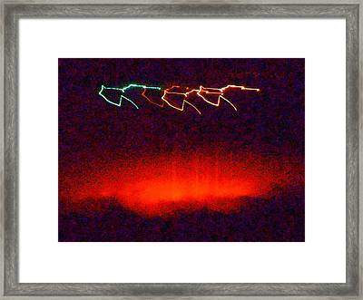 In The Midnight Hour Framed Print
