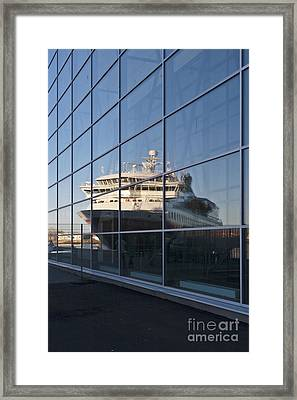 In The Mirror Framed Print by Heiko Koehrer-Wagner