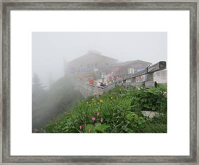 Framed Print featuring the photograph In The Mist by Pema Hou