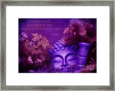 In The Moment Framed Print by John Malone