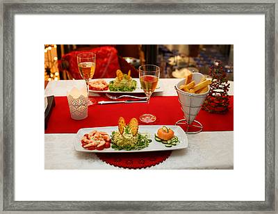 Framed Print featuring the photograph In The Mood by Paul Indigo