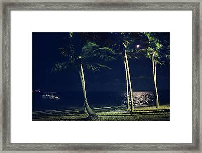 In The Moonlight Framed Print by Laurie Search
