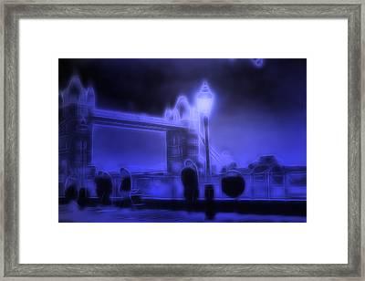 In The Moonlight Framed Print by Steve K