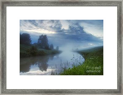 In The Morning At 02.57 Framed Print