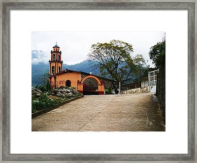 Framed Print featuring the photograph In The Mountains Of Mexico by Joy Nichols