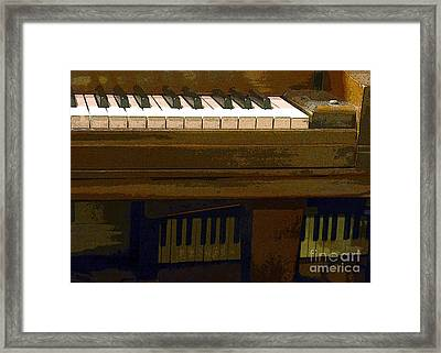 In The Music Room Framed Print by Barbie Corbett-Newmin