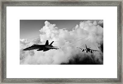 In The Nest Framed Print by Benjamin Yeager