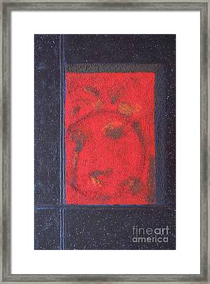 Framed Print featuring the painting In The Night Sky by Mini Arora