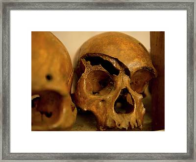 In The Olden Days, Naga Tribes Framed Print
