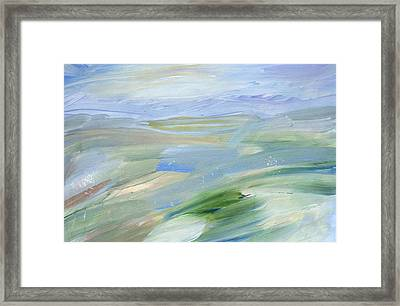 In The Open Framed Print by Tanya Byrd