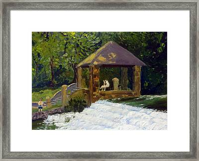 In The Park Framed Print by Rick Carbonell