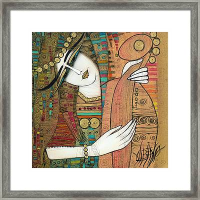 In The Past... Framed Print