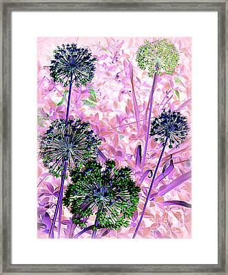In The Pink Framed Print by Avis  Noelle