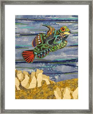 In The Reef Framed Print