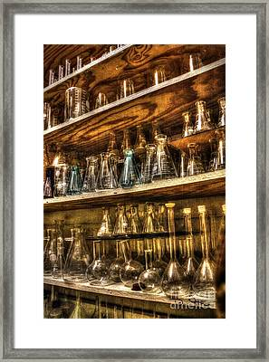 In The Scientist's Closet Framed Print