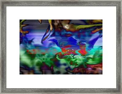 In The Sea Framed Print by EricaMaxine  Price