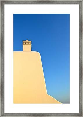 Greek Geometry Framed Print by Corinne Rhode