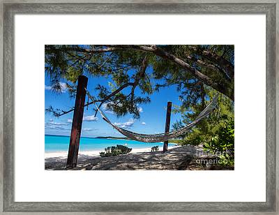 In The Shade Framed Print by Rene Triay Photography
