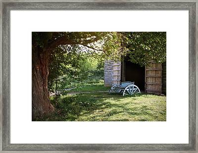 In The Shade Framed Print by Stephen Norris