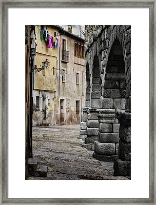 In The Shadow Framed Print