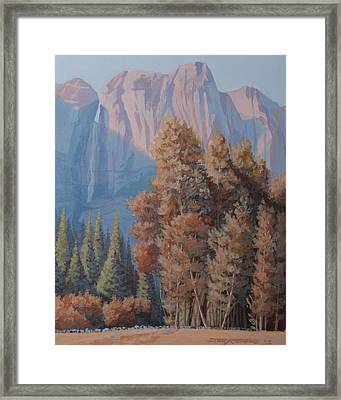 In The Shadow Of El Capitian Framed Print by Joe Ambrose