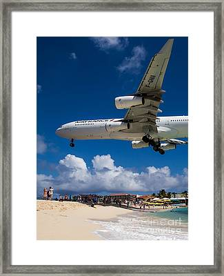 In The Shadow Of Greatness Framed Print