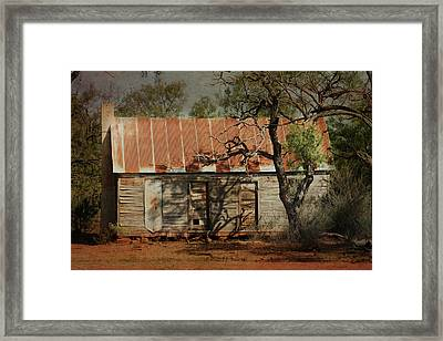 In The Shadow Of Time Framed Print