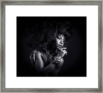 Framed Print featuring the photograph In The Shadows by Brian Tarr