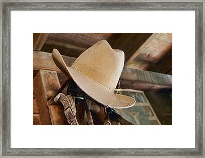 In The Shed #1 Framed Print
