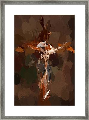 In The Sign Of The Cross Framed Print