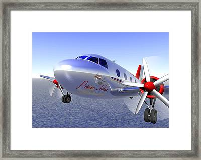 In The Skies Framed Print by Andreas Thust