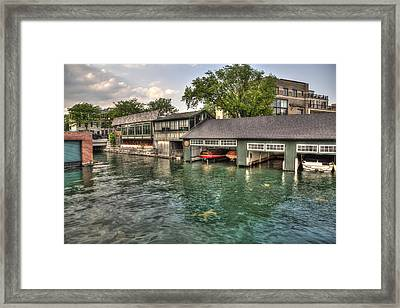 In The Slip Framed Print