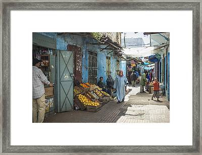 In The Souk Framed Print by Patricia Hofmeester
