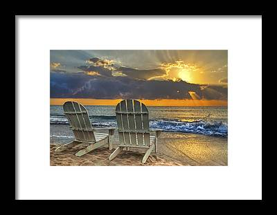 Oceanscape Framed Prints