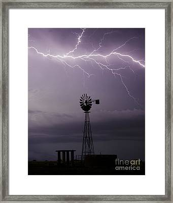 In The Still Of Night Framed Print