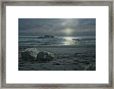 In The Still Of The Night Framed Print