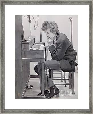 In The Studio Framed Print by Robert Hooper