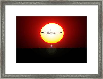 Framed Print featuring the photograph In The Sun by Paul Job