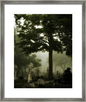 In The Thick Of It Framed Print by Gothicolors Donna Snyder