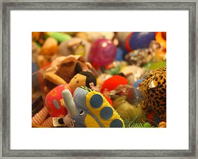 In The Toy Chest Framed Print
