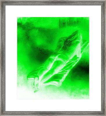 In The Transformation Of Books Framed Print by Genio GgXpress