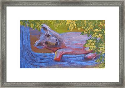 In The Tree Framed Print by Tim Townsend