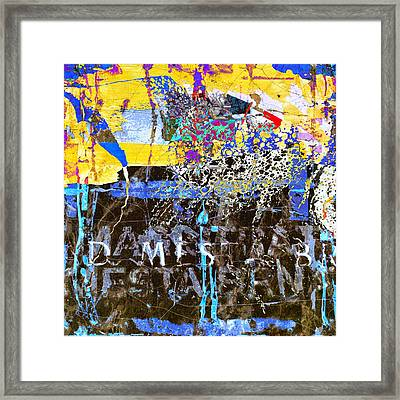 In The Underworld Framed Print by Dominic Piperata