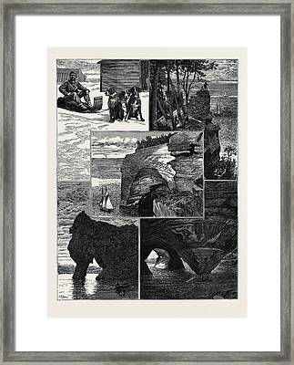 In The United States Framed Print by American School
