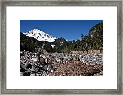 In The Valley Framed Print by David Stine
