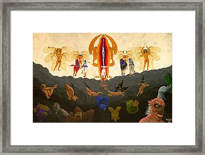 In The Valley Of Megiddo  Framed Print by Rand Swift