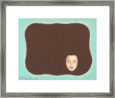 In The Void Framed Print by Judith Grzimek