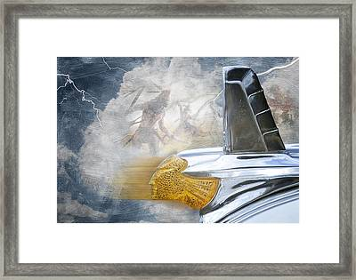In The Wind Framed Print by Davina Washington