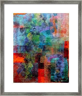 In The Wind Framed Print