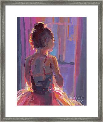In The Wings Framed Print by Kimberly Santini